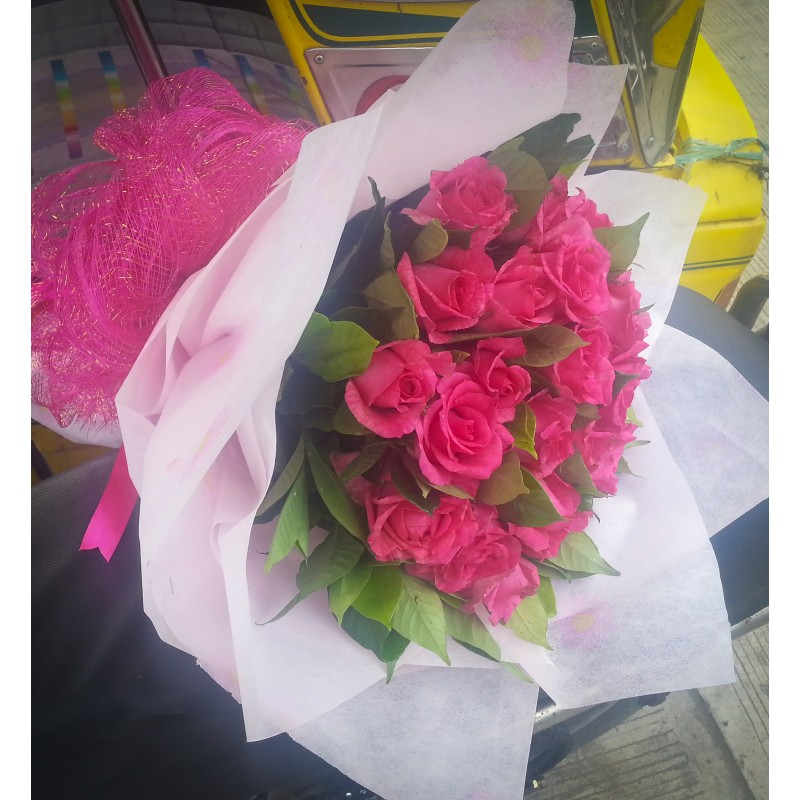 Lovely In Pink Bouquet Tins Flower Shop Pangasinan